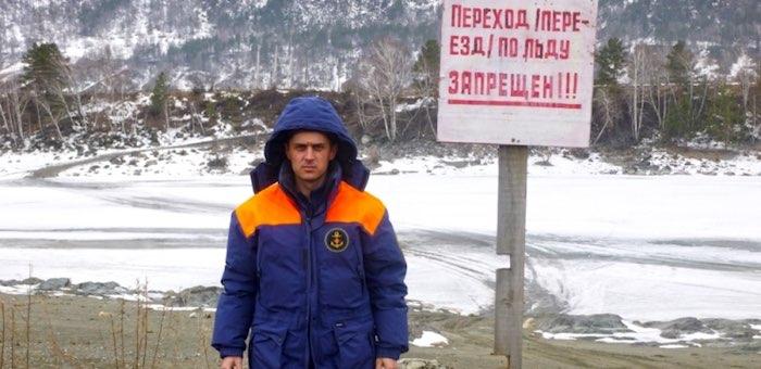 Все ледовые переправы закрыты в Республике Алтай
