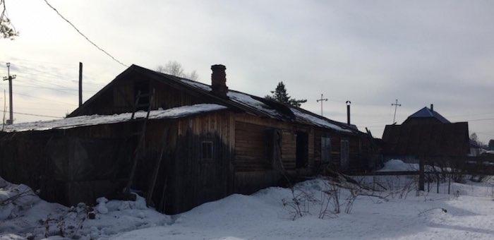 В Турочаке при пожаре погибли двое пенсионеров