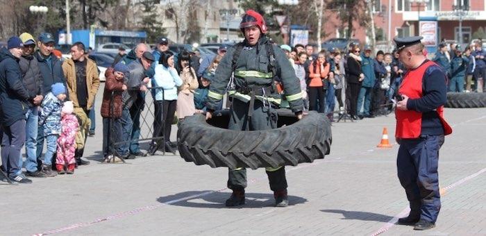 Соревнования по пожарно-спасательному многоборью пройдут в Горно-Алтайске