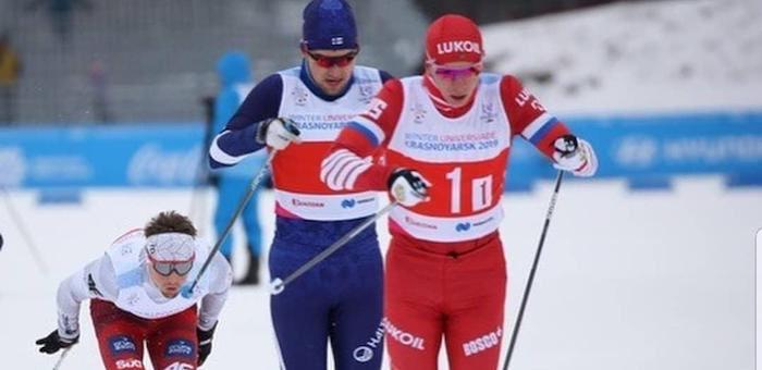 На Универсиаде в Красноярске Андрей Собакарев завоевал «серебро»