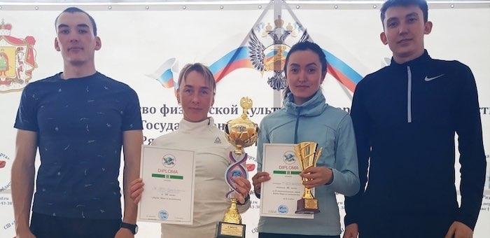 Сборная ГАГУ стала бронзовым призером финала Кубка мира по зимнему полиатлону