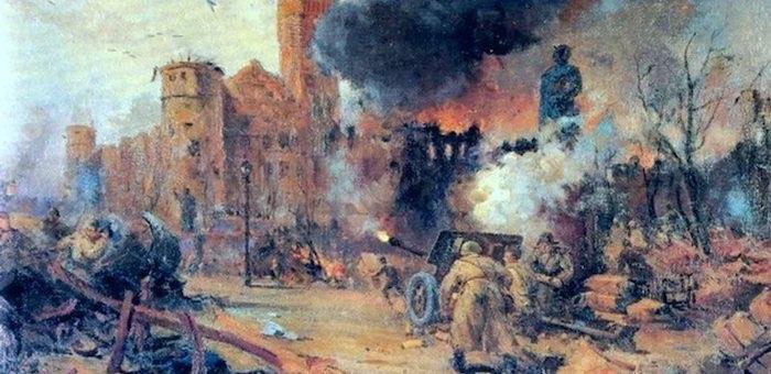 Подвиги алтайских воинов в штурме Кенигсберга