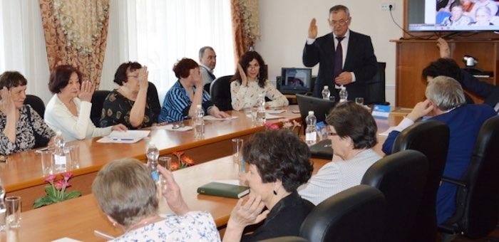 В отделении Союза пенсионеров сменилось руководство