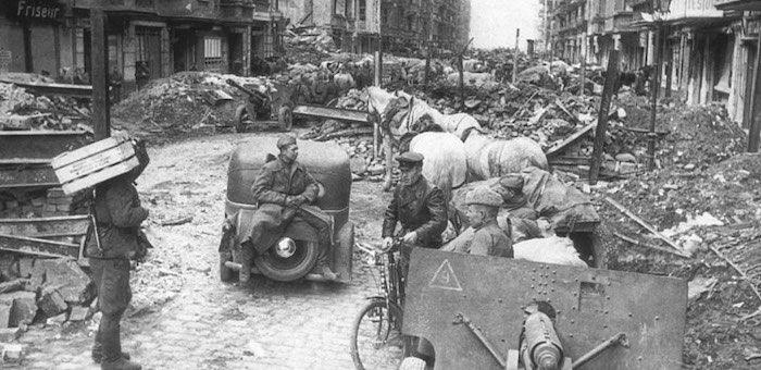 Отвага младшего сержанта Чирухина в боях за город Котбус