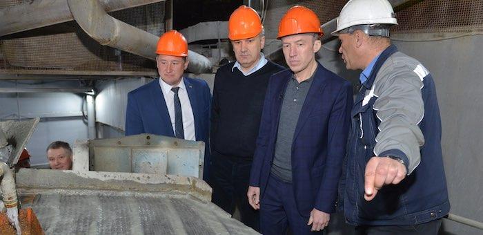 Олег Хорохордин посетил с рабочей поездкой Чойский район