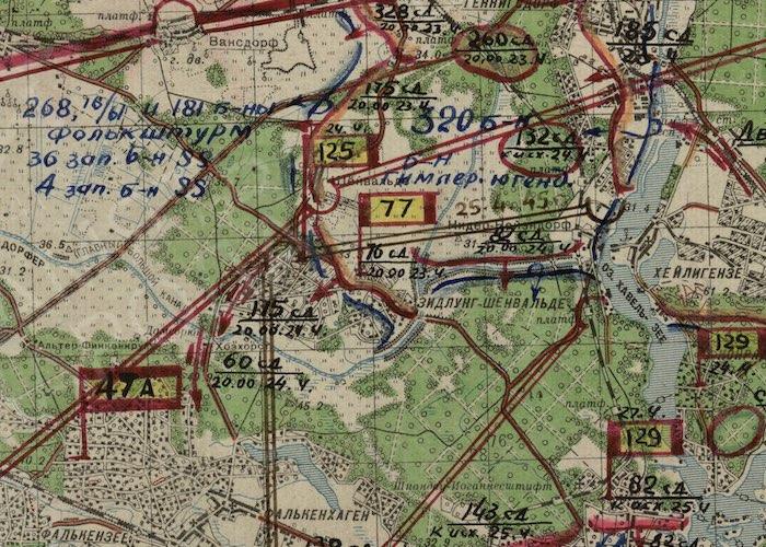 Алтайский разведчик отличился в ходе окружения Берлина