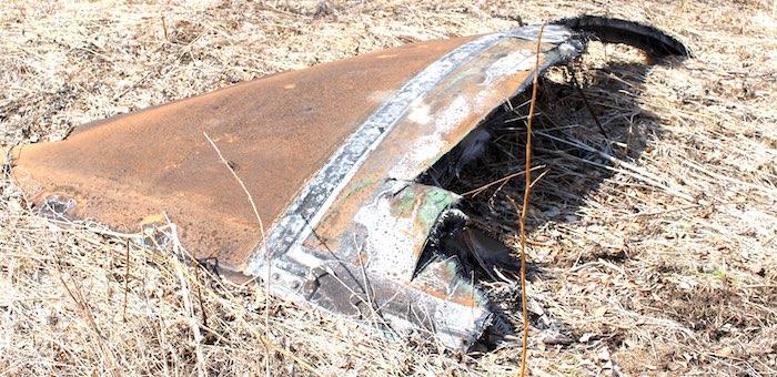 Жители Апшуяхты обеспокоены из-за свалки «космического мусора» в окрестностях села