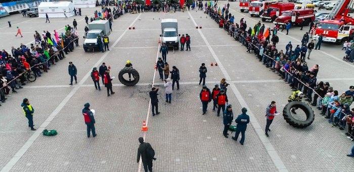 «Ростелеком» помог организовать онлайн-трансляцию пожарного кроссфита из Республики Алтай