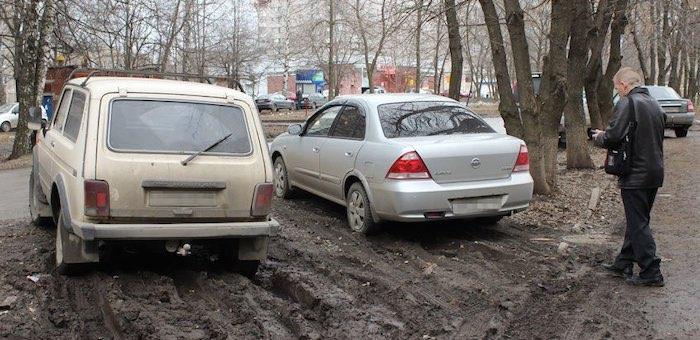 Нарушителей правил парковки в Горно-Алтайске выявляют с помощью высоких технологий