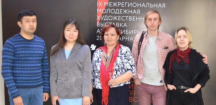 Молодые художники Горного Алтая приняли участие в биеннале «Аз.Арт.Сибирь»