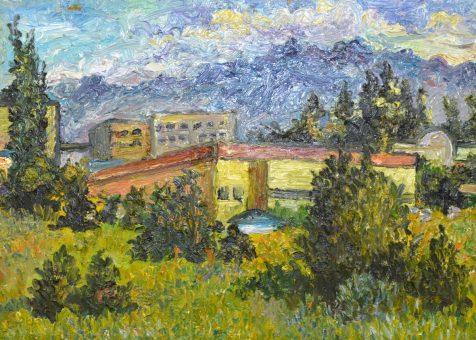 В Элекмонаре открылась международная художественная выставка «Дыхание степи»