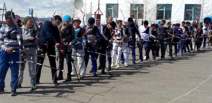 В Кош-Агачском районе прошли состязания по стрельбе из лука
