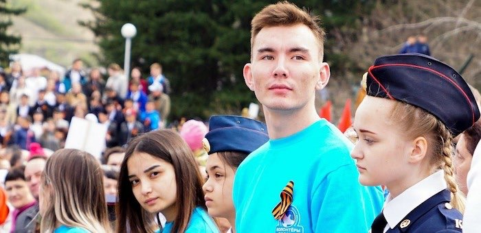 Доброволец из Республики Алтай избран «Послом Победы»