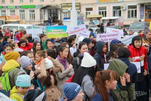 Мероприятия Всемирного Дня здоровья состоялись в Горно-Алтайске