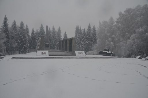 Мощный снегопад обрушился на Горный Алтай перед Пасхой