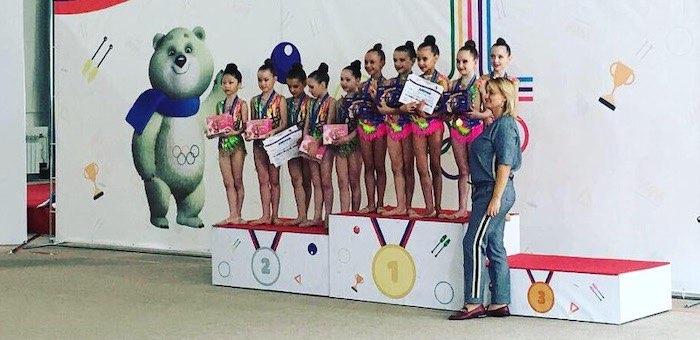 Горно-алтайские гимнастки завоевали в Новосибирске четыре золотых медали
