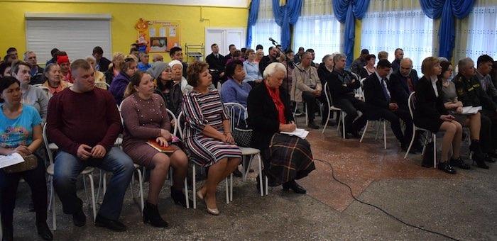 Сход жителей округа №3 прошел в Горно-Алтайске