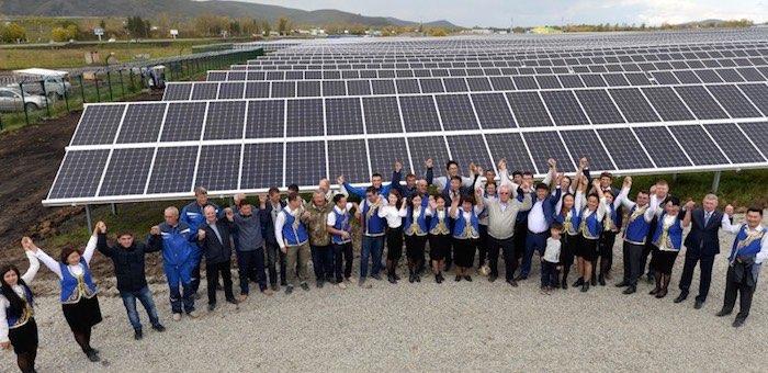 Алтайские солнечные электростанции вновь вошли в число самых производительных в стране