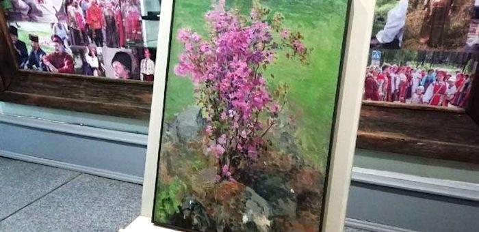 Неизвестную ранее картину Чорос-Гуркина покажут во время праздника на «Бирюзовой Катуни»