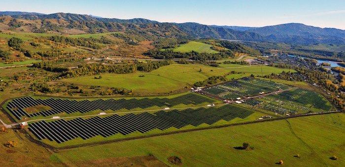 Еще две солнечные электростанции введены в строй на Алтае
