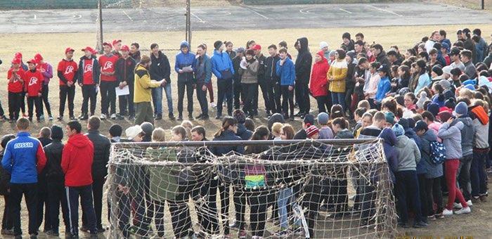 Шебалинские школьники приняли участие в богатырской пробежке