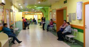 Служба участковых педиатров вернулась в больничный городок