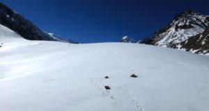 Исследователи установили контроль за массой ледника Левый Актру