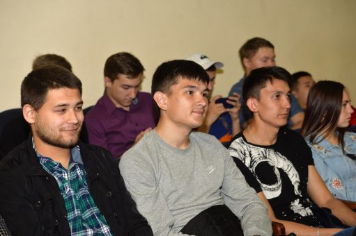 Олег Хорохордин встретился со студентами и преподавателями ГАГУ