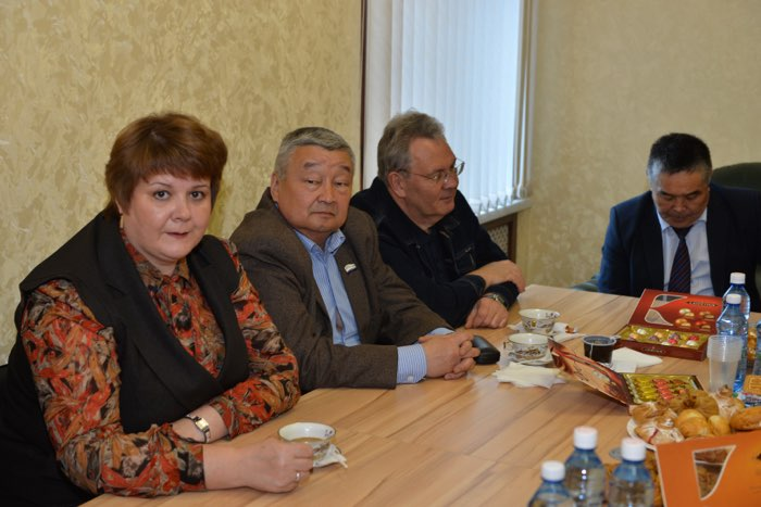 Олег Хорохордин открыл Центр развития Республики Алтай