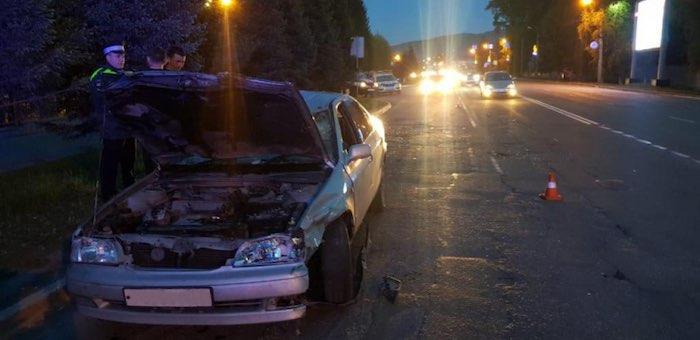 По вине пьяного водителя в Горно-Алтайске столкнулись иномарки
