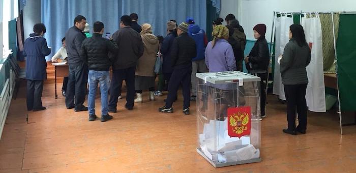 В Республике Алтай проголосовали уже 16 тысяч человек