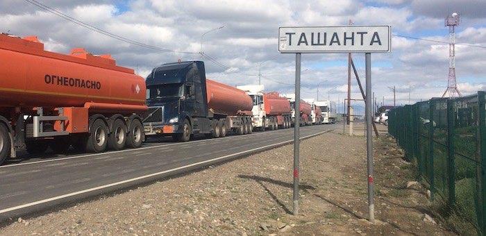 Несмотря на чуму в Монголии, пункт пропуска «Ташанта» работает в штатном режиме