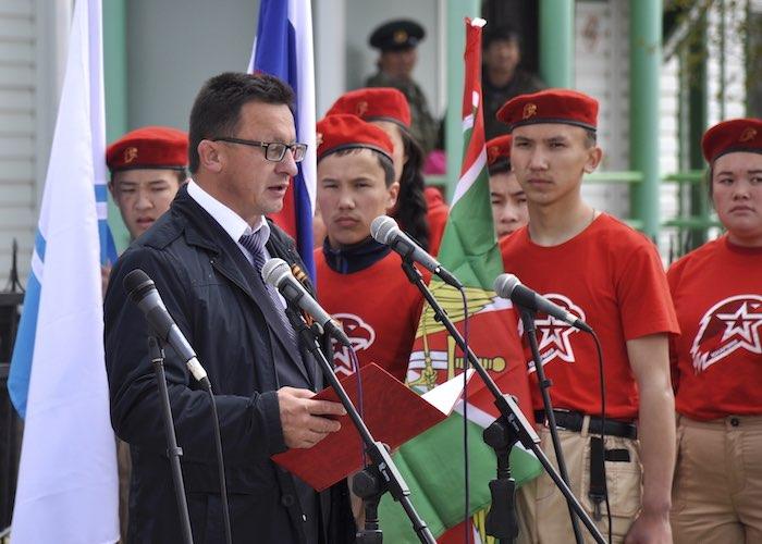 День пограничника отметили в Улагане