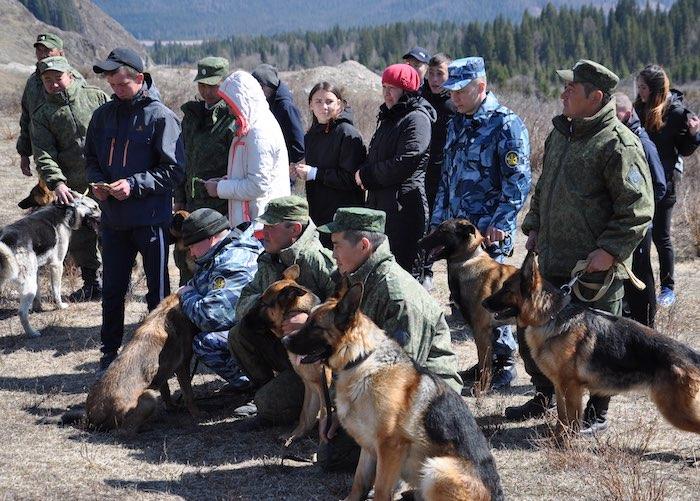 Межведомственные соревнования по кинологии впервые состоялись в Республике Алтай