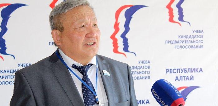 «Единая Россия» поддерживает создание Центра развития Республики Алтай