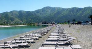 Первый пляж официально открыт в Республике Алтай