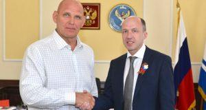 Александр Карелин примету участие в работе Центра развития Республики Алтай