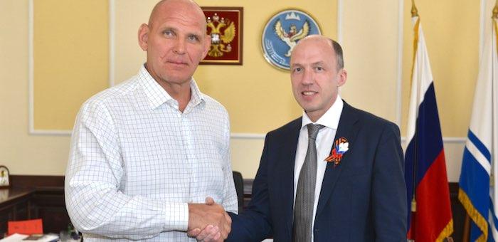 Александр Карелин примет участие в работе Центра развития Республики Алтай