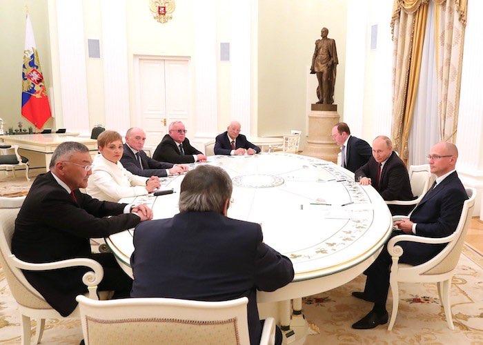 Путин наградил Бердникова Орденом Почета
