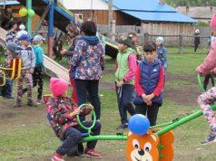 В Шебалино и Курае открыли детские площадки