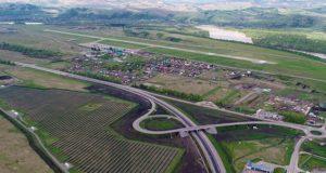 Строительство дорожного обхода Маймы идет с опережением графика