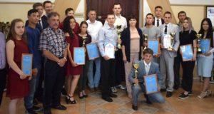 В мэрии наградили победителей и призеров студенческой спартакиады