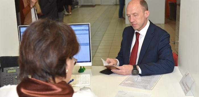 Олег Хорохордин получил горно-алтайскую прописку