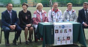 Олимпийские чемпионы встретились с воспитанниками горно-алтайских спортивных школ