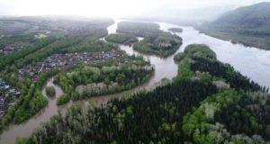 Вторая волна паводка проходит в Республике Алтай
