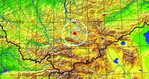 Возле Акташа произошло землетрясение