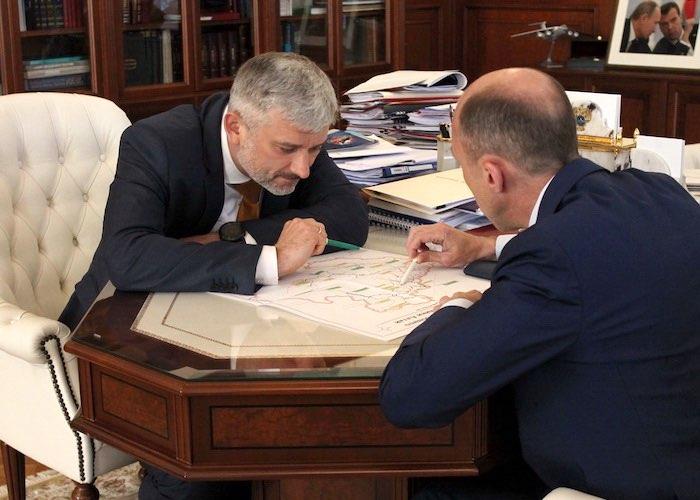 Олег Хорохордин обсудил с руководителем Минтранса строительство и ремонт дорог