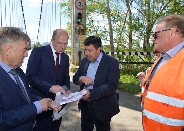 В Подгорное построят новый мост