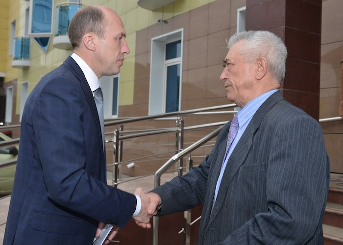 Олег Хорохордин и Владимир Петров