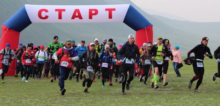 В Сайлюгемском парке впервые состоялся чемпионат по горному бегу